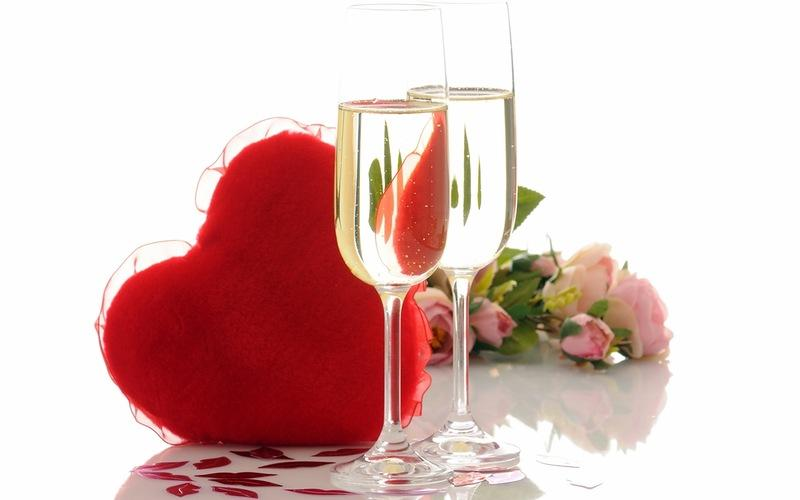 Valentines Day Champagnes