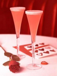 valentinesday cocktail