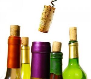 wines bottles