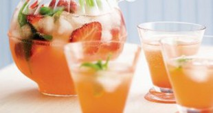 strawberry vodka cup recipe